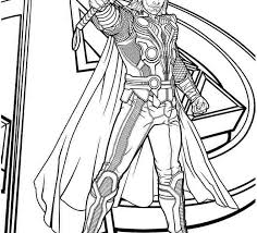 Thor Printable Coloring Pages Kids Coloring Page Cavasecreta Com Thor Coloring Page