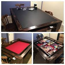 shark tank game table wood gaming table photo 1 of dungeons dragons design geek gorgeous