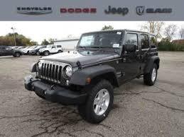 jeep wrangler unlimited 24s 2017 jeep wrangler jk wrangler unlimited sport s 4x4 grand blanc