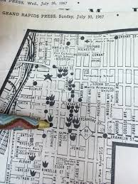 Grand Rapids Mi Zip Code Map by Why Division Avenue Hasn U0027t Recovered From The 1967 Grand Rapids