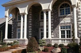 interior columns boston blend ledgestone interior columns white