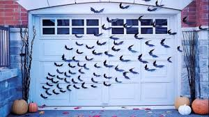 diy garage door halloween decorations youtube