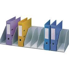 etagere classeur pour bureau paperflow trieur pour étagère 10 cases fixes gris module de
