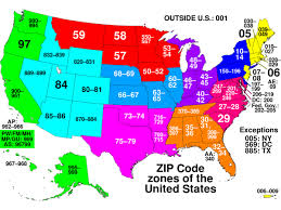 Chicago Zip Code Map by What Do Zip Codes Mean Business Insider