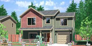 house plans for a narrow lot plans for small houses three bedroom house plan narrow lot house