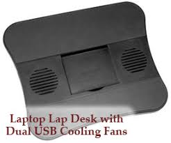 lap desk with fan computer lap desk with dual usb fan pinteres