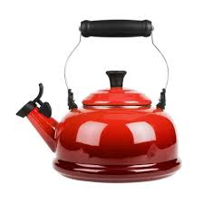 sur la table tea kettle le creuset classic whistling teakettle sur la table