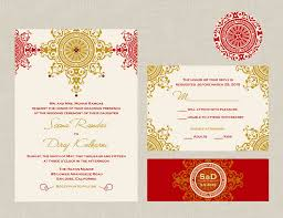 Wedding Invitations Indian The Azva Collection Indian Wedding Invitation An Ornate