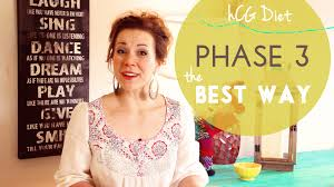 phase 3 of the hcg diet the best way