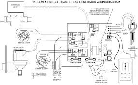 wiring diagrams for steam generator at and 3t