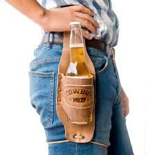 5 Handy Uses For Beer by Cowboy Buzy Beer Holster Handmade By Hide U0026 Drink