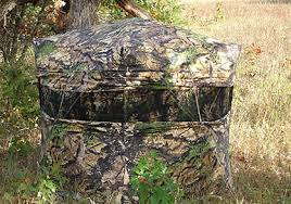 Tree Trunk Hunting Blind Tips For Bowhunting From A Ground Blind