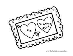 free printable valentine u0027s coloring pages kids