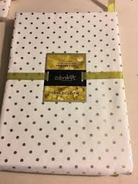 gold polka dot table cover kate spade 70 rd cotton charlotte street white navy polka dot