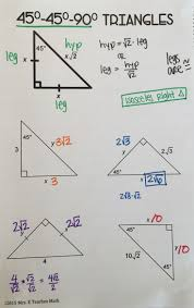 Free Algebra 2 Worksheets Geometry Special Right Triangles Worksheet Defendusinbattleblog