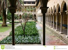 spanish courtyard stock image image 461741