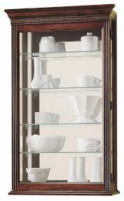Wall Curio Cabinet Glass Doors Wall Curio Cabinets With Glass Doors The Clock Depot