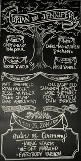 Wedding Program Chalkboard 173 Best Signs Chalkboards Images On Pinterest Chalkboard Ideas