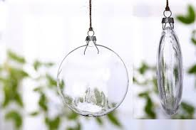 130mm diy disc glass balls ornaments paintable wedding