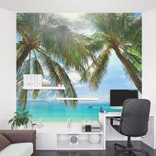 tropical beach paradise wall mural tropical beach paradise wall mural tropical beach mural
