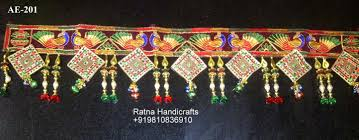 decorative bandhanwar diwali toran zardosi work home decor buy