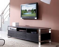 contemporary media console ideas black wood u2014 contemporary