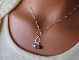 personalized children s jewelry personalized inf beyond necklace children s birthstones pendant