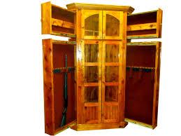 Used Corner Curio Cabinets For Sale Wooden Gun Cabinets For Sale With Etched Glass Used On Ebay Corner