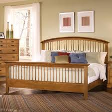 BB Vaughan Bassett Furniture Barnburner Baxter Oak Spindle - Discontinued bassett bedroom furniture