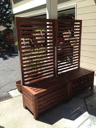 applaro free standing bench and trellis hack ikea hackers ikea