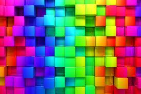 blocks rainbow 3d graphics background 76559 6000 4000 hd