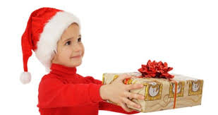 associating christmas spirit of giving with promotional giveaways