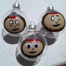 buckeye snowflake ornament made with real buckeye nuts grown in