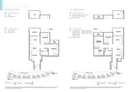 kingsford waterbay 2 bedroom floorplan