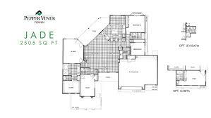 casita floor plan custom homes floor plans pepper viner homes