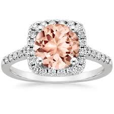 what is morganite morganite odessa ring 1 4 ct tw in 18k white gold brilliant