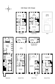 105 best floorplans images on pinterest townhouse manhattan and