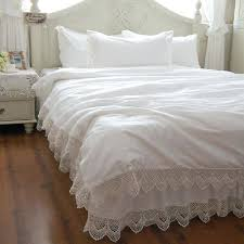 Types Of Duvet Princess Show Cotton Lace Bed Skirt Quilt Cover Pillowcase Bed Of
