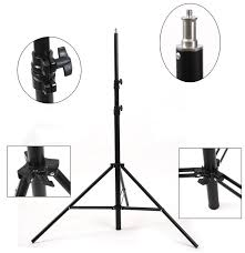light stand apex heavy duty 9ft light stand spring cushioned with aluminum