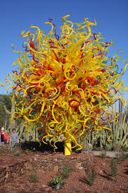 Desert Botanical Garden Chihuly Glass By Dale Chihuly Highlights Desert Botanical Garden In