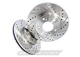 2007 honda accord rotors amazon com 2003 2007 honda accord performance brake rotors rear