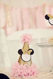 Pink And Black Minnie Mouse Decorations Minnie Mouse 1st Birthday Pink Gold Minnie Mouse Party Minnie