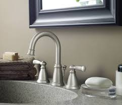 Two Handle Widespread Lavatory Faucet Moen Ca84924srn Banbury Two Handle Widespread Lavatory Faucet