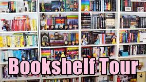 bookshelf tour 2016 youtube