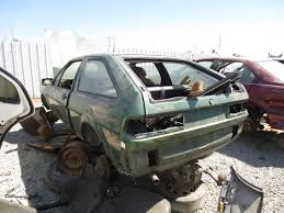 Junkyard Find 1982 Volkswagen Scirocco The Truth About Cars