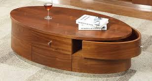 jual curve walnut coffee table jf607 oak furniture solutions