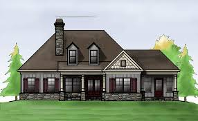 one house plans with porch cottage house plan with porches by max fulbright designs