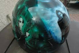 airbrushed motocross helmets custom airbrush paint motorcycle helmets for sale by bad paint