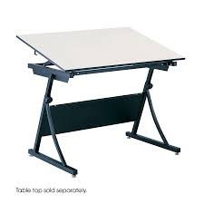 Split Level Drafting Table Height Adjustable Split Level Drafting Table Safco Products