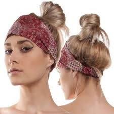 hippy headband silly yogi cotton batik headband hippie backpacks bags